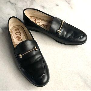 Sam Edelman Lior Loafer Black Leather Size 5